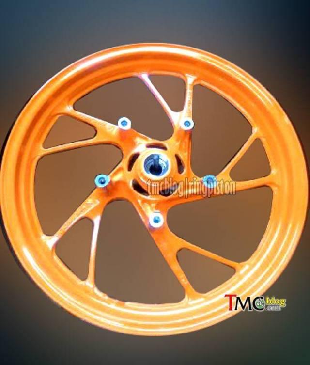 velg orange cbr150r facelift