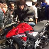cb500x tokyo motorcycle show 2016