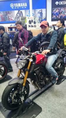 mt09 tokyo motorcycle show 2016