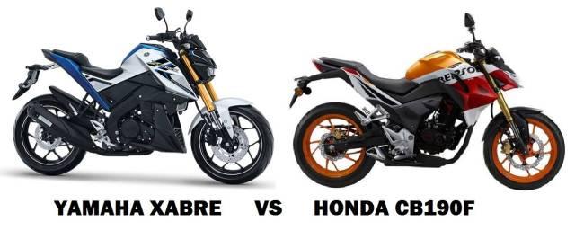 XABRE vs h cb190r