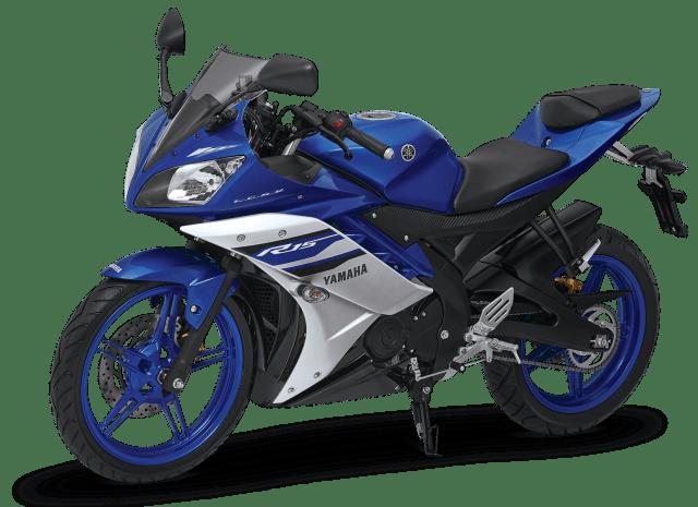 YZF-R15 Racing Blue