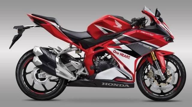 Honda cbr250rr red racing 2016