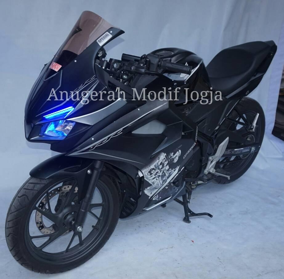 Modifikasi All New Honda CB150R Pakai Fairing Ala CBR250RR WARUNGASEP