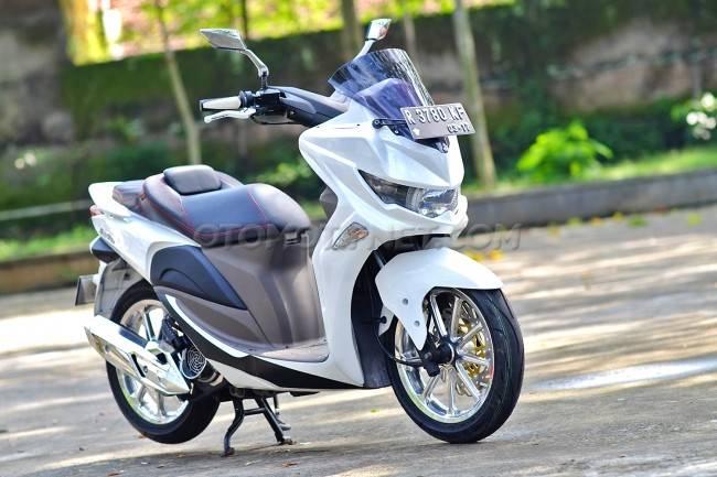 Ketika Honda Spacy Dimodifikasi Ala Nmax Mau Warungasep