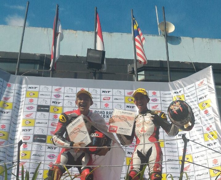 pembalap indonesia podium arrc sentul 2016