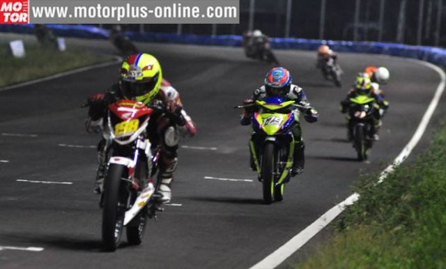 Honda Sonic vs Yamaha MX-King di Sidrap Prix Night Race 2016 seri 3