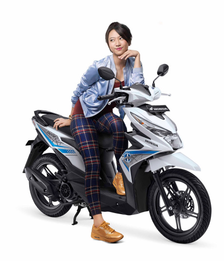 warna honda beat 2016