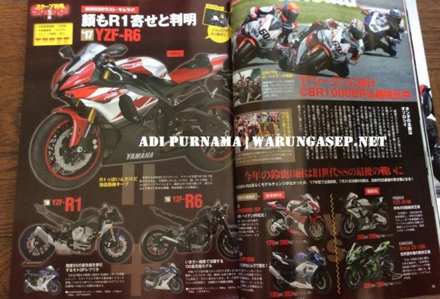 young machine 2016 yzf-r6