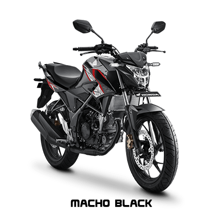 cb150r macho black 2017