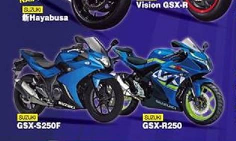 Suzuki GSX-S250F dan GSX-R250