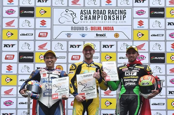 Pembalap Indonesia podium ke 3