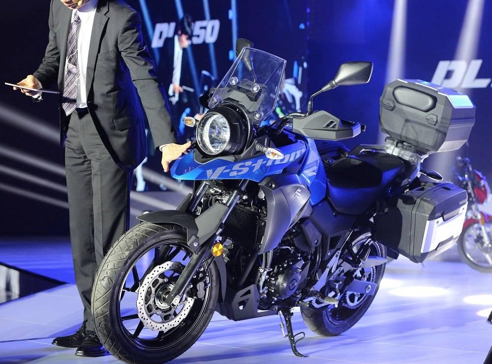 Sebelumnya Suzuki V-Strom 250 rilis di China