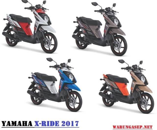 Yamaha X Ride Facelift 2017 Cuma Ganti Warna Explorer