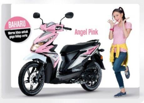 Unyunya Honda Beat Baru Di Malaysia Ada Warna Pink Dan Lampu Sein