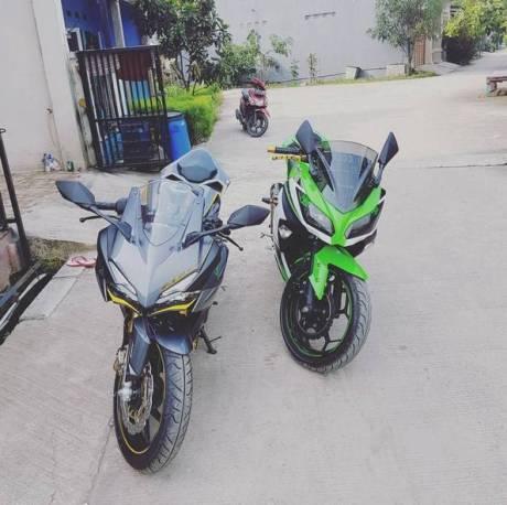 Honda CBR250RR vs Kawasaki Ninja