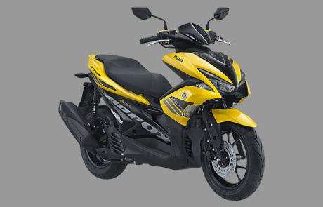 Foto Studio 6 Pilihan Warna Yamaha Aerox 155 Pilih Warna Kuning