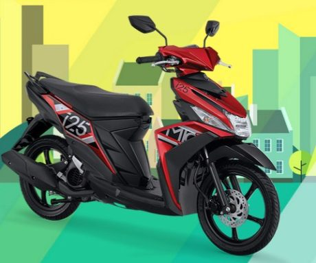 Foto Warna Dan Spesifikasi Yamaha Mio M3 125 2017 Sudah Aks