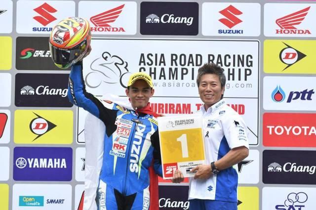 Juara Asia SAC 2016