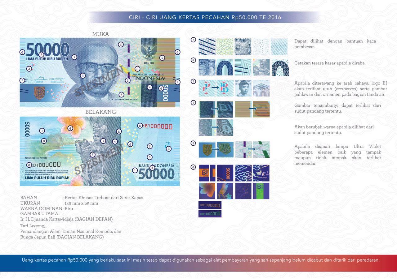 uang kertas baru 50ribuan