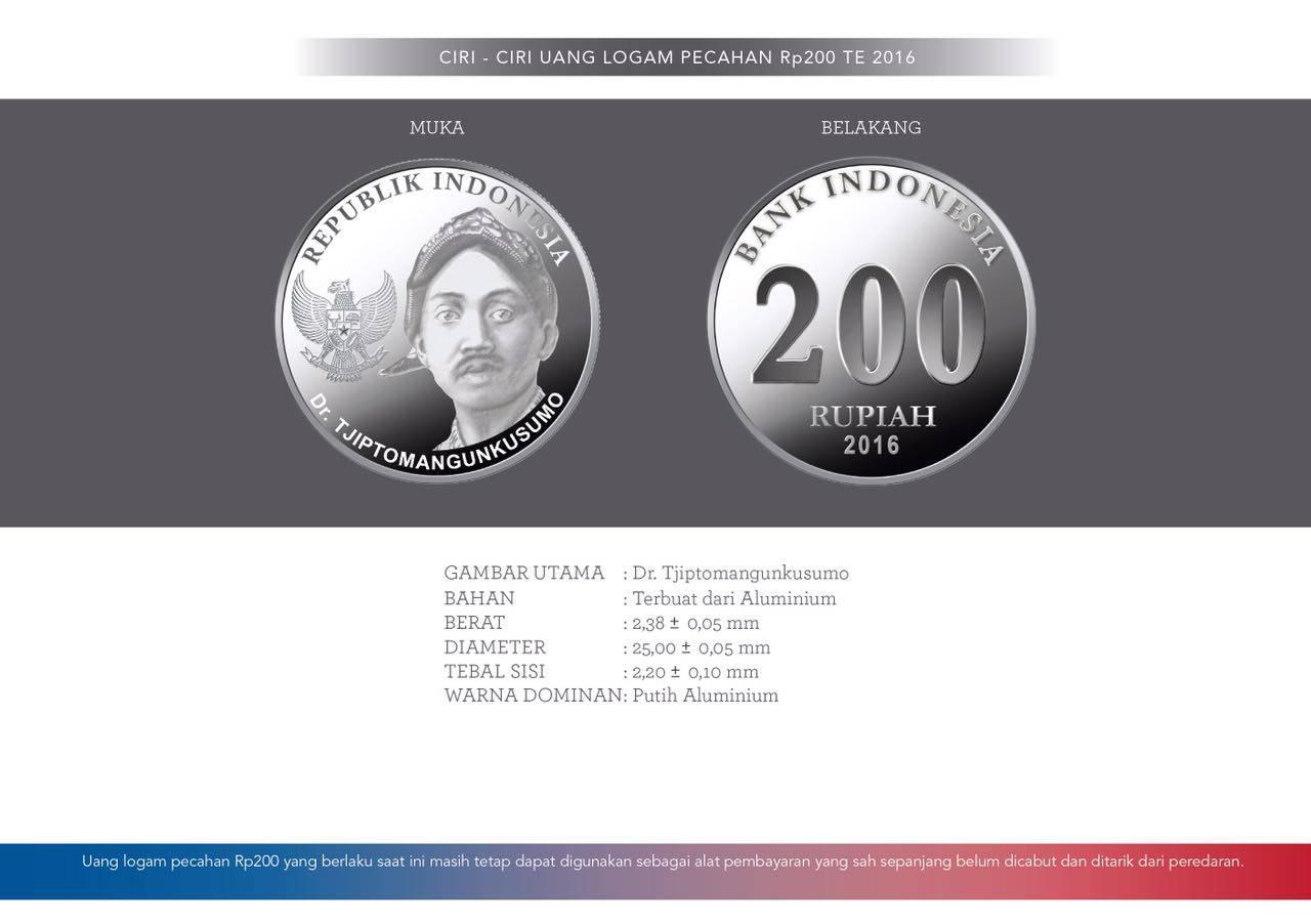 uang logam 200 baru