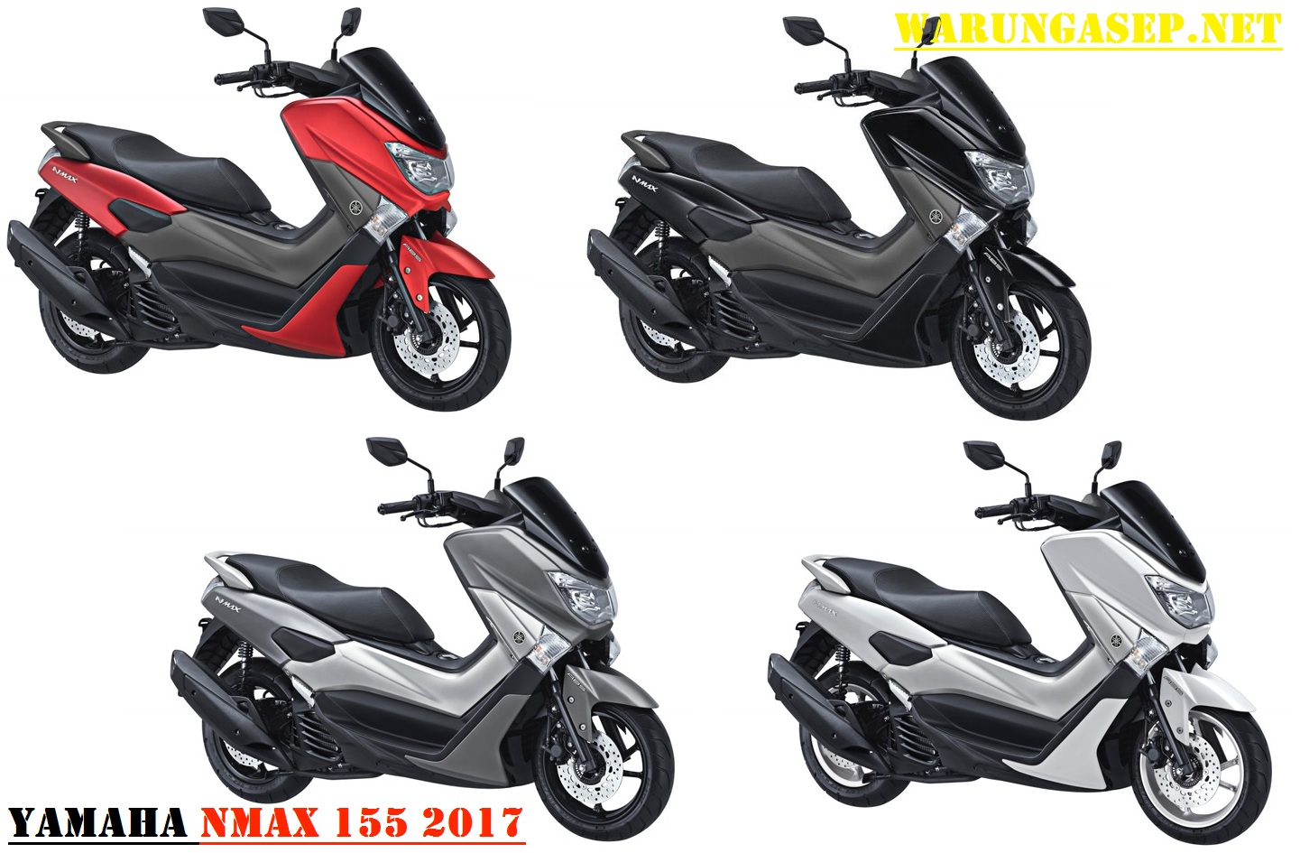 warna  yamaha nmax  facelift harga rp