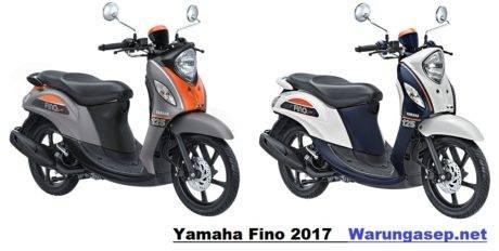 5 Warna Yamaha Fino 125 2017 Versi Premium Dan Sporty Yang Putih