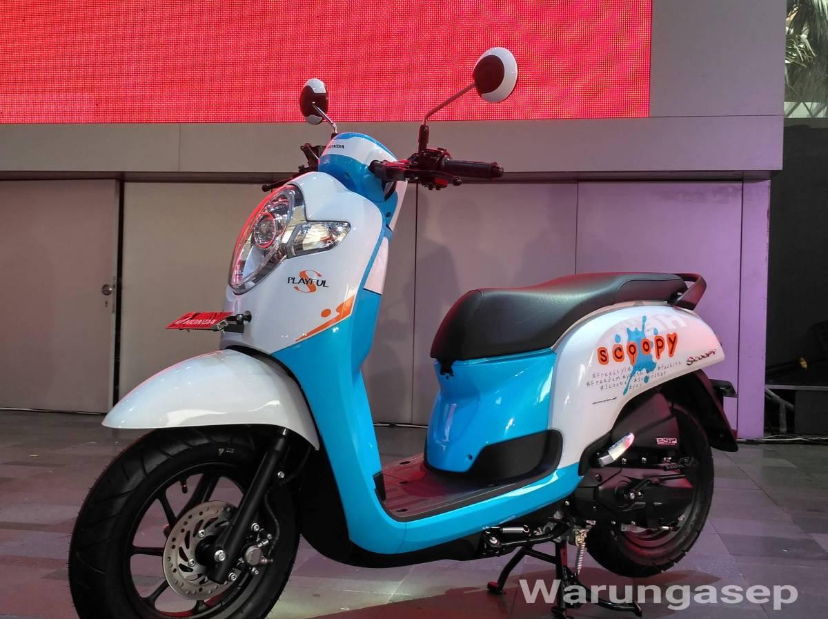 Spesifikasi Dan Fitur Baru Honda Skupi 2017 Warungasep