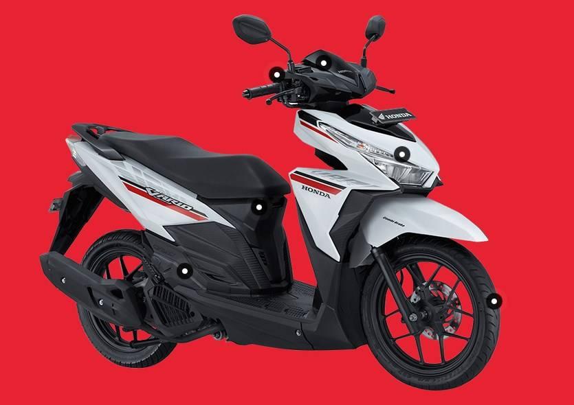 Honda Vario 125 2017 Putihh Warungasep