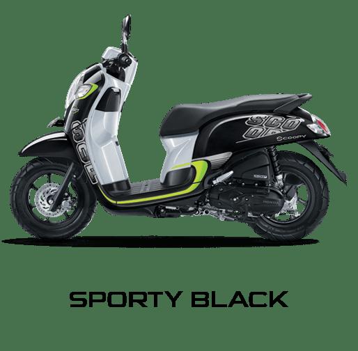 honda scoopy 2017 sporty hijau