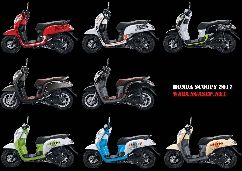 Foto Studio 8 Pilihan Warna Honda Scoopy 2017 Varian Sporty