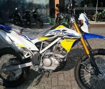 KLX 150 bf EXTREME kuning 2