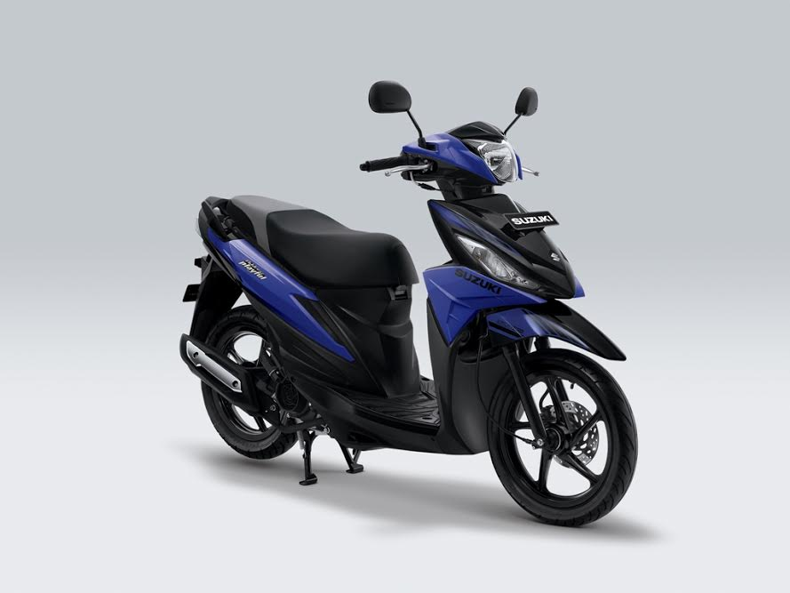 New Suzuki Address 2017 Playful biru