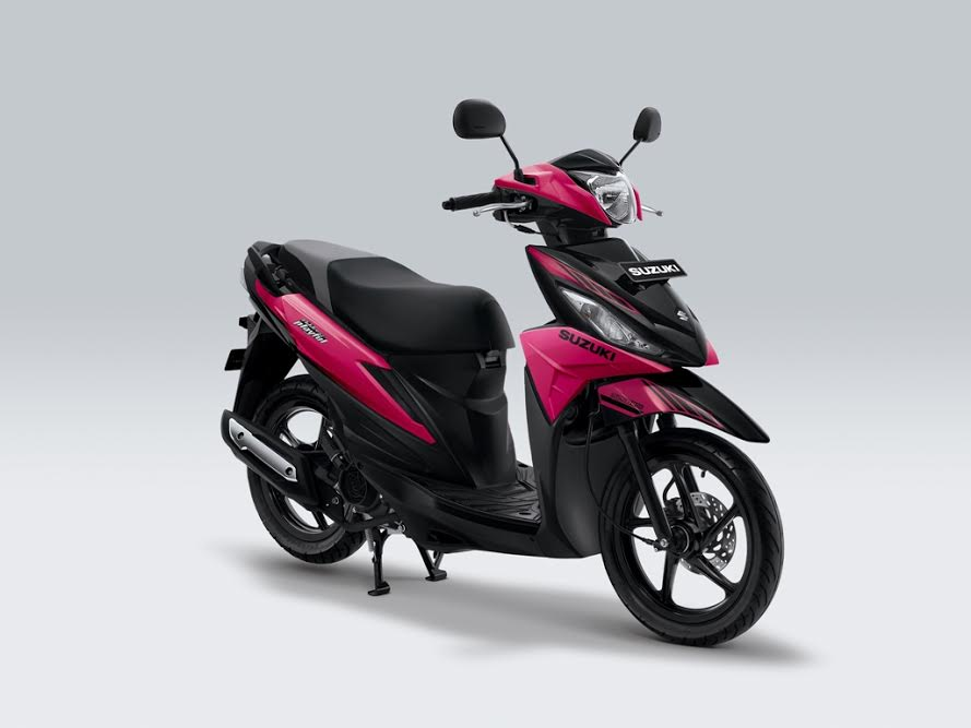 New Suzuki Address 2017 Playful pink