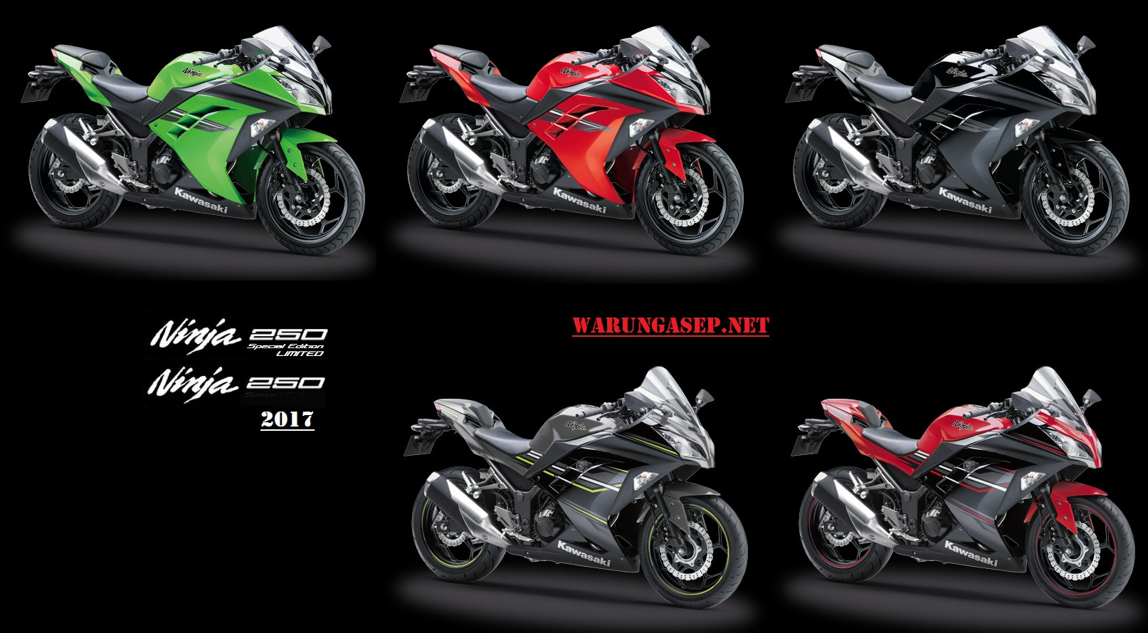 Harga Dan Warna Baru Kawasaki Ninja 250 Fi Se Abs 2017 Harga