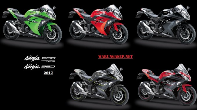 Harga Dan Warna Baru Kawasaki Ninja 250 Fi Se Abs 2017 Harga Mulai
