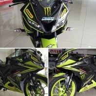 konsep modifikasi all new yamaha r15 kuning