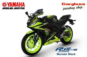 konsep modifikasi all new yamaha r15 monster energy