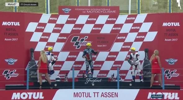 Hasil Moto3 Assen 2017 : Aron Canet Juara, Kalahkan Romano Fenati