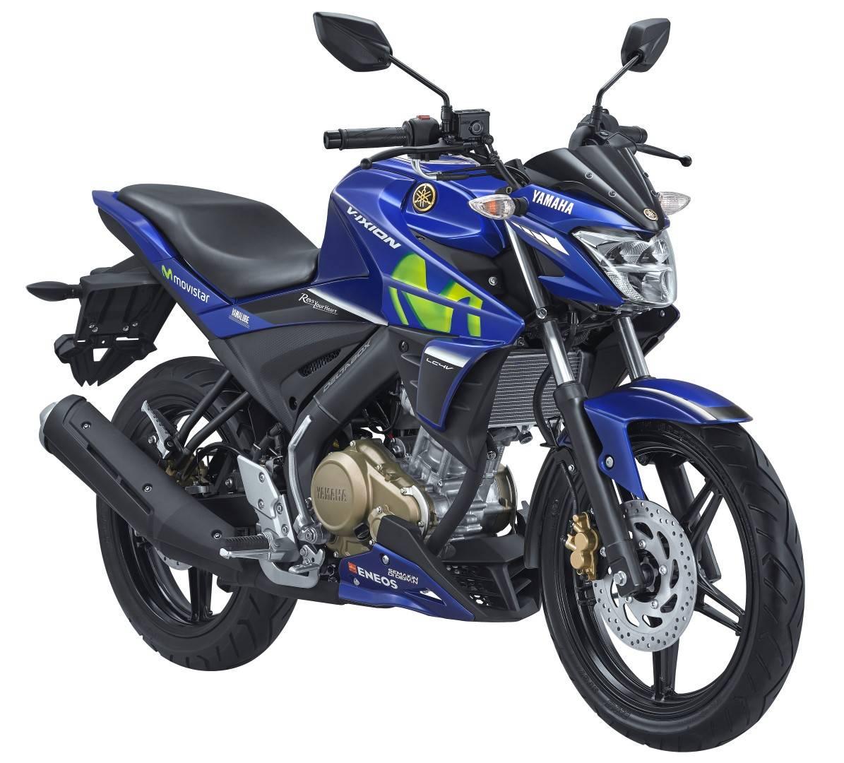 All New Vixion Movistar Yamaha MotoGP Livery 2017 WARUNGASEP