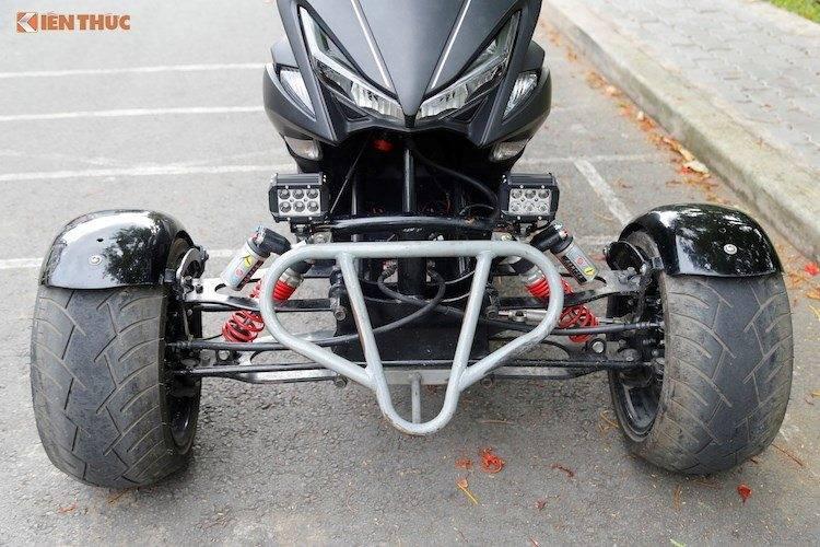 aerox 155 roda 3 depan