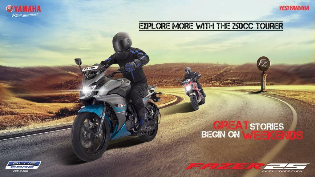 Yamaha Fazer 25 2017 Rilis Di India, Sport Fairing Touring
