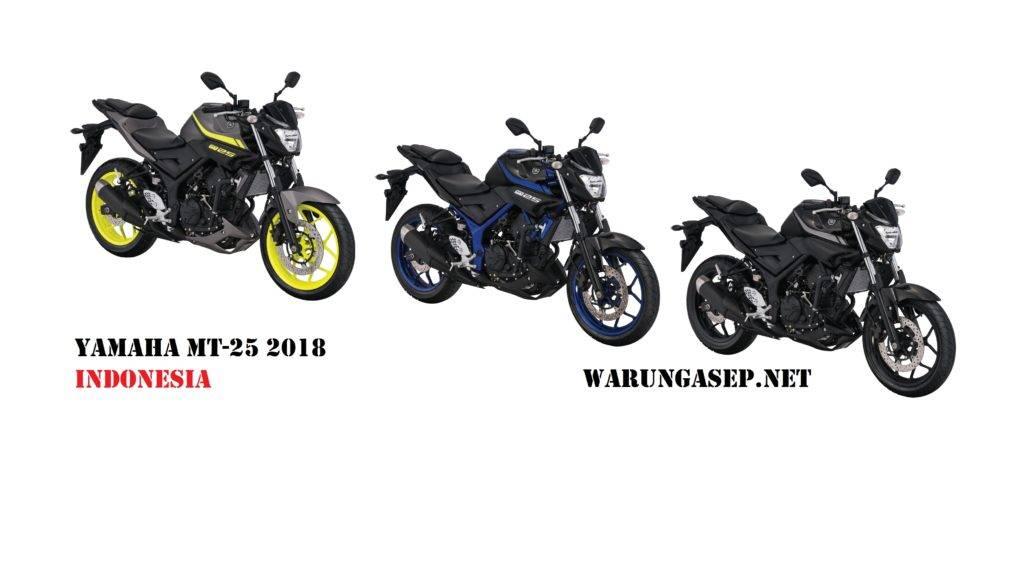 Yamaha MT-25 2018 Warna Baru Velg Fluo Hadir di Indonesia