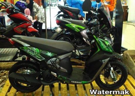 modifikasi   yamaha  ride cc ala supermoto