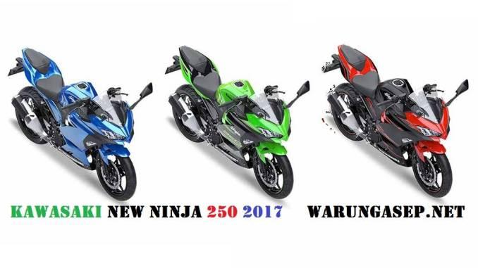 3 Warna Kawasaki Ninja 250 Fi 2018 Warna Hijau Merah Dan Biru