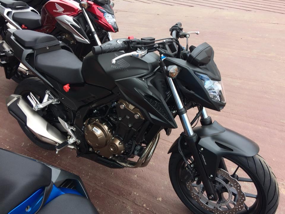 cb500f black