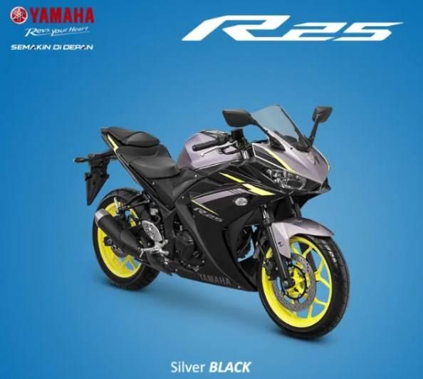 r25 facelift 2018 kuning