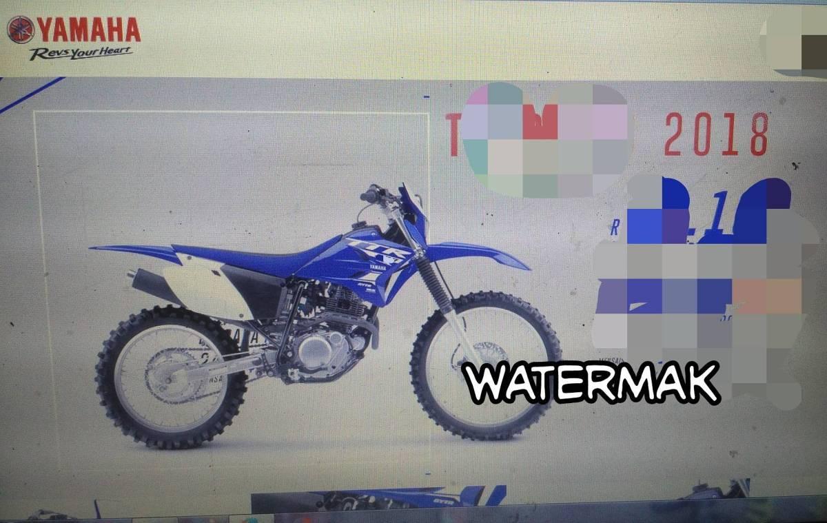 Bocoran Motor Trail Yamaha, Pakai Mesin Baru Euy!