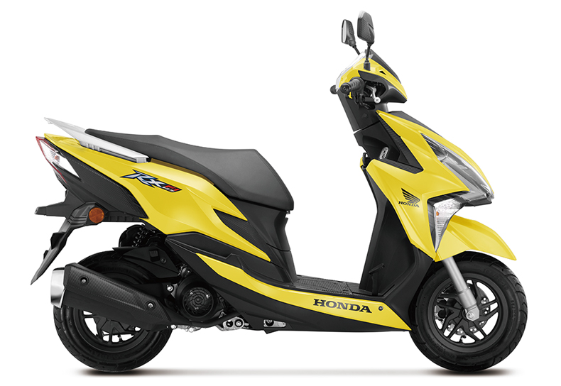 honda rx125 fi kuning