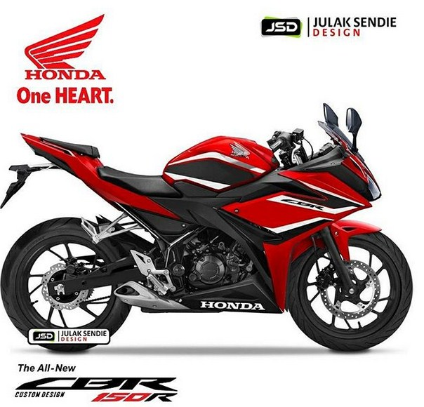 CBR150R minor facelift merah