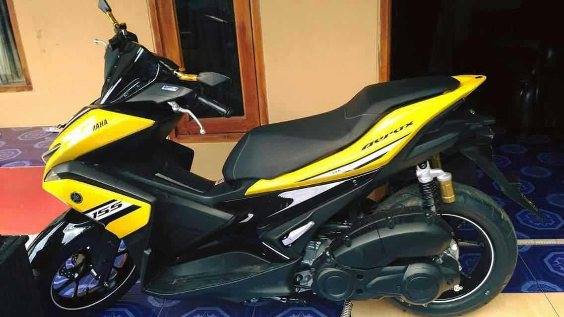 aerox r kuning